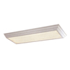 Portfolio White Flush Mount Fluorescent Light ENERGY STAR (Common: 4-ft; Actual: 51.75-in)