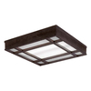 Portfolio 28-in Brown Ceiling Fluorescent Light ENERGY STAR