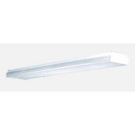Utilitech White Ceiling Fluorescent Light ENERGY STAR (Common: 4-ft; Actual: 48.12-in)