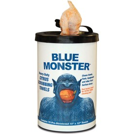 Blue Monster Blue Monster Heavy-Duty Citrus Scrubbing Towels