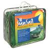 Easy Gardener 11-3/4-in W x 11-3/4-in L Green Residential Polyethylene Square Shade Sail