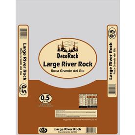 0.5-cu ft River Rock