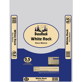0.5-cu ft White Rock