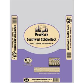 0.5 cu ft Southwest Cobble Rock