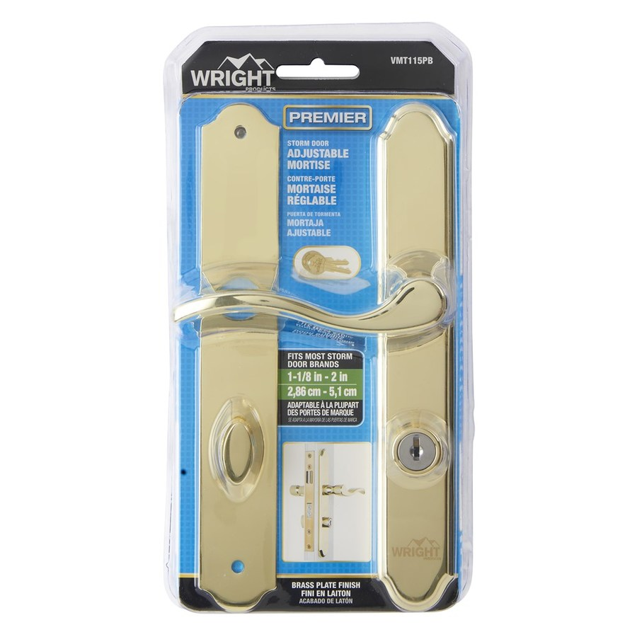 Shop wright products 4 keyed screen door storm door for Door latch parts