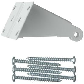 WRIGHT PRODUCTS White Replacement Jamb Bracket