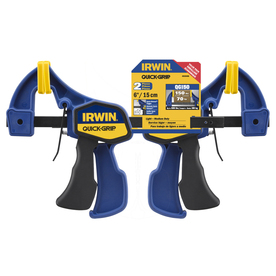 IRWIN QUICK-GRIP 2-Pack 6-in Clamp Set