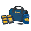 IRWIN 51-Piece High-Speed Steel Metal Twist Drill Bit Set