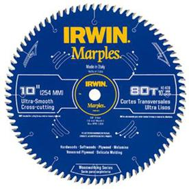 IRWIN Marples 10-in 80-Tooth Circular Saw Blade