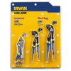IRWIN 3-Piece Locking Pliers Set