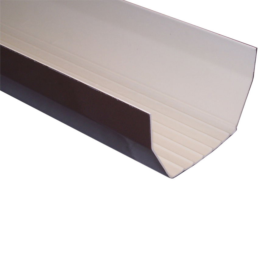 Shop Genova Half Round Vinyl Gutter at Lowes.com
