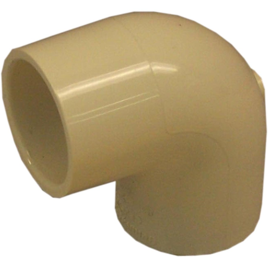 Genova 10 pack 3 4 90 elbow cpvc fittings for hot cold for Cpvc hot water