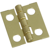 National 4-Pack 3/4-in x 11/16-in Solid Brass Cabinet Hinges