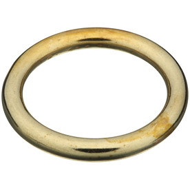 "Stanley-National Hardware 1"" Solid Brass Ring"