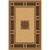 Natco Chateaux 63-in x 91-in Rectangular Cream/Beige/Almond Transitional Area Rug