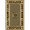Natco Chateaux 63-in x 91-in Rectangular Green Transitional Area Rug