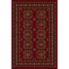 Natco Interlude 24-in x 40-in Rectangular Red Accent Rug