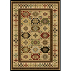 Natco Interlude 60-in x 87-in Rectangular Cream/Beige/Almond Transitional Area Rug