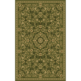 Natco Interlude 94-in x 118-in Rectangular Green Transitional Area Rug