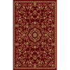 Natco Interlude 94-in x 118-in Rectangular Red/Pink Transitional Area Rug