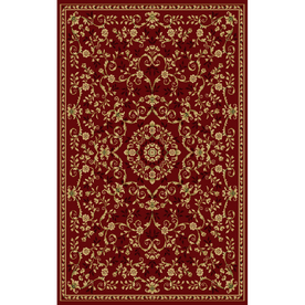 Natco Leyla 24-in x 40-in Rectangular Red Accent Rug