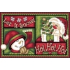 Natco Holiday Gloucester Rectangular Throw Rug (Common: 1-1 and 2 x 2-1 and 2; Actual: 19.7-in W x 29.9-in L)