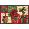 Natco Echo 19.7-in x 29.9-in Rectangular Multicolor Christmas Accent Rug