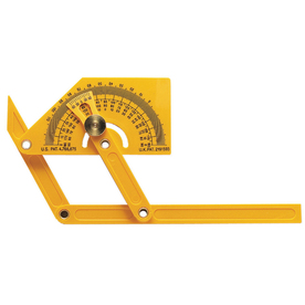 General Tools & Instruments 165° Plastic Protractor