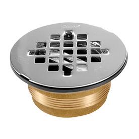 Oatey Fits Pipe Size 2-in Dia Brass Shower Drain
