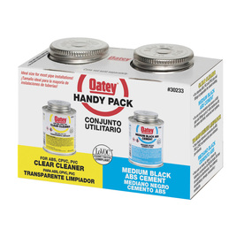 Oatey 8 fl oz ABS/Cleaner Handy Pack