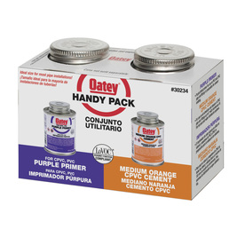 Oatey 4 fl oz CPVC Cement and Primer