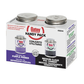 Oatey 8 fl oz LO-VOC PVC Cement and Primer