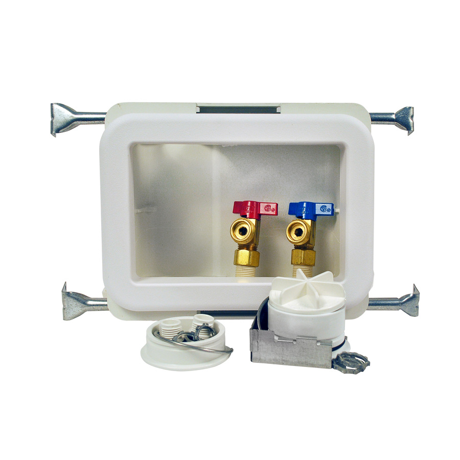 washing machine shut valve installation