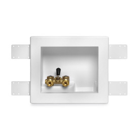 Oatey Single Lever Copper Sweat Washing Machine Outlet Box