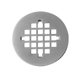 Oatey Fits Pipe Size 4.25-in Dia Stainless Steel Strainer