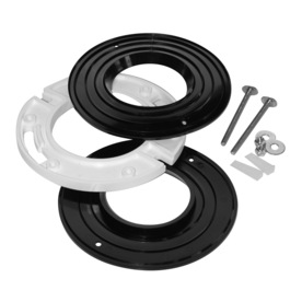  1/2-in Toilet Flange Extender and Complete Spacer Kit