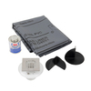 Oatey Stainless Steel Solid Surface Shower Base Extension Kit
