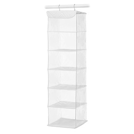Style Selections 6-Shelf Hanging Organizer