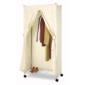 Style Selections Canvas Garment Rack Cover