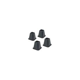 1 Black Whitmor Bed Risers Set of 4