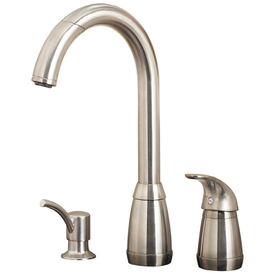 display product reviews for contempra stainless steel 1handle pulldown kitchen faucet