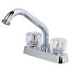 Pfister Classic Polished Chrome 2-Handle Laundry Faucet
