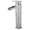 Pfister Kenzo Brushed Nickel 1-Handle Single Hole WaterSense Bathroom Sink Faucet (Drain Included)