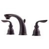 Pfister Avalon Tuscan Bronze 2-Handle Widespread WaterSense Bathroom Faucet (Drain Included)