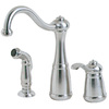 Pfister Marielle 1-Handle High-Arc Kitchen Faucet with Side Spray