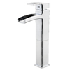Pfister Kenzo Polished Chrome 1-Handle Single Hole WaterSense Bathroom Sink Faucet (Drain Included)