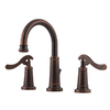 Pfister Ashfield Rustic Bronze 2-Handle Widespread WaterSense Bathroom Sink Faucet (Drain Included)