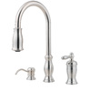Pfister Hanover 1-Handle Pull-Down Kitchen Faucet