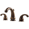 Pfister Treviso Velvet Aged Bronze 2-Handle Widespread WaterSense Labeled Bathroom Sink Faucet (Drain Included)