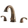 Pfister Treviso Velvet Aged Bronze 2-Handle-Handle Fixed Deck Mount Tub Faucet